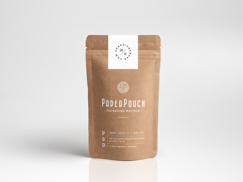Paper Pouch Packaging Mockup  mockup, free mockup, psd mockup, mockup psd, free psd, psd, download mockup, mockup download, photoshop mockup, mock-up, free mock-up, mock-up psd, mockup template, free mockup psd, presentation mockup, branding mockup, free psd mockup
