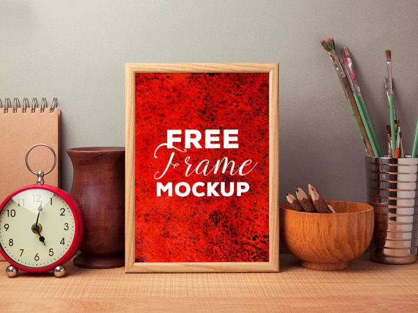 Photo Frame on Table Mockup  mockup, free mockup, psd mockup, mockup psd, free psd, psd, download mockup, mockup download, photoshop mockup, mock-up, free mock-up, mock-up psd, mockup template, free mockup psd, presentation mockup, branding mockup, free psd mockup