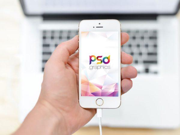 White Apple iPhone in Hand Mockup  mockup, free mockup, psd mockup, mockup psd, free psd, psd, download mockup, mockup download, photoshop mockup, mock-up, free mock-up, mock-up psd, mockup template, free mockup psd, presentation mockup, branding mockup, free psd mockup