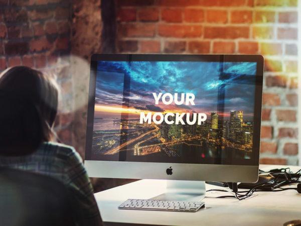 27in Apple iMac Office Table Mockup  mockup, free mockup, psd mockup, mockup psd, free psd, psd, download mockup, mockup download, photoshop mockup, mock-up, free mock-up, mock-up psd, mockup template, free mockup psd, presentation mockup, branding mockup, free psd mockup