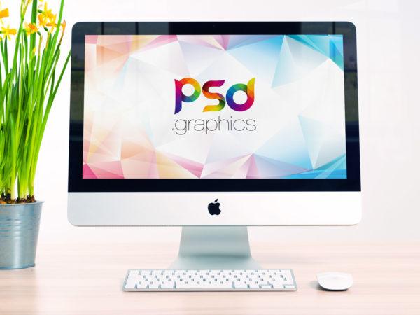 Clean Apple iMac on Desk Mockup  mockup, free mockup, psd mockup, mockup psd, free psd, psd, download mockup, mockup download, photoshop mockup, mock-up, free mock-up, mock-up psd, mockup template, free mockup psd, presentation mockup, branding mockup, free psd mockup