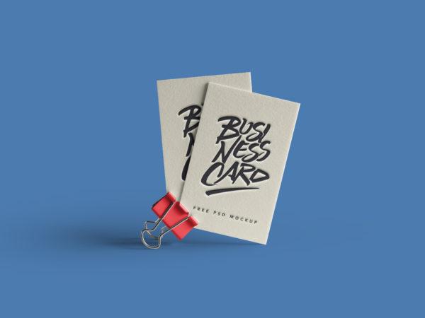 Business Card with paper clip Mockup  mockup, free mockup, psd mockup, mockup psd, free psd, psd, download mockup, mockup download, photoshop mockup, mock-up, free mock-up, mock-up psd, mockup template, free mockup psd, presentation mockup, branding mockup, free psd mockup