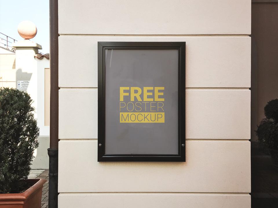 Outdoor Photorealistic Poster Mockup  mockup, free mockup, psd mockup, mockup psd, free psd, psd, download mockup, mockup download, photoshop mockup, mock-up, free mock-up, mock-up psd, mockup template, free mockup psd, presentation mockup, branding mockup, free psd mockup