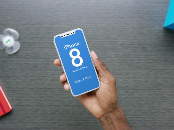 Apple iPhone 8 in Hand Mockup  mockup, free mockup, psd mockup, mockup psd, free psd, psd, download mockup, mockup download, photoshop mockup, mock-up, free mock-up, mock-up psd, mockup template, free mockup psd, presentation mockup, branding mockup, free psd mockup