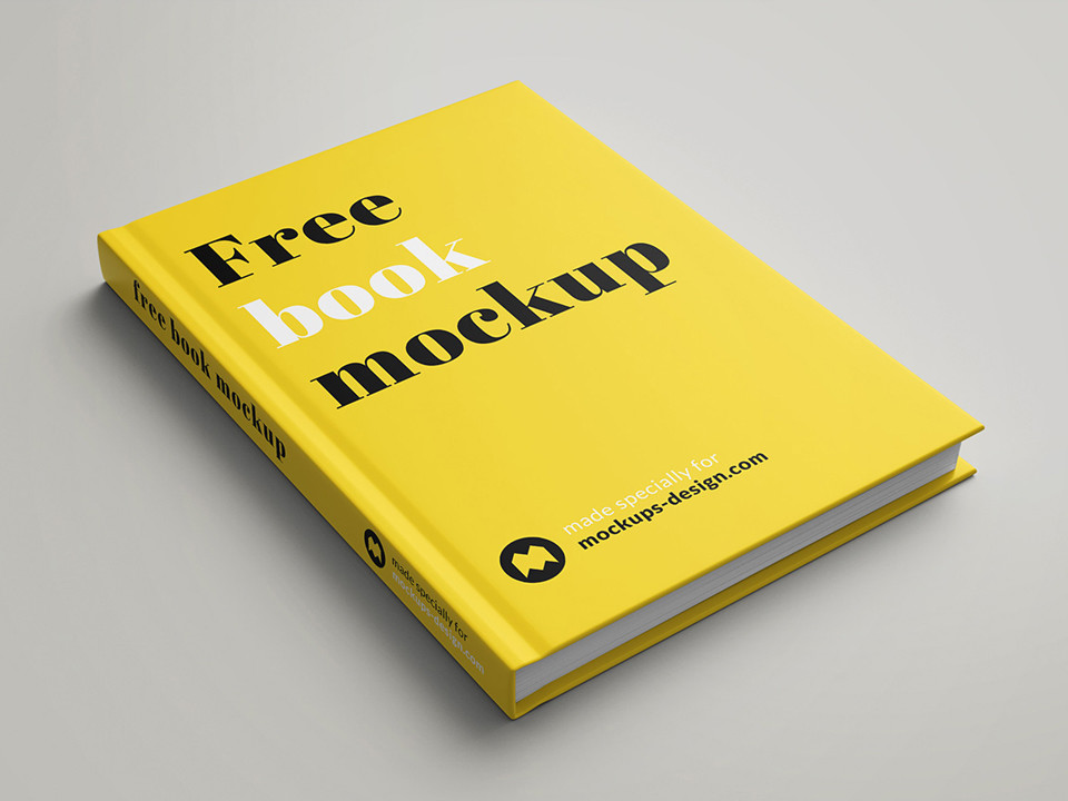 Book Cover Design Psd Free Download : Free book cover mockup psd love