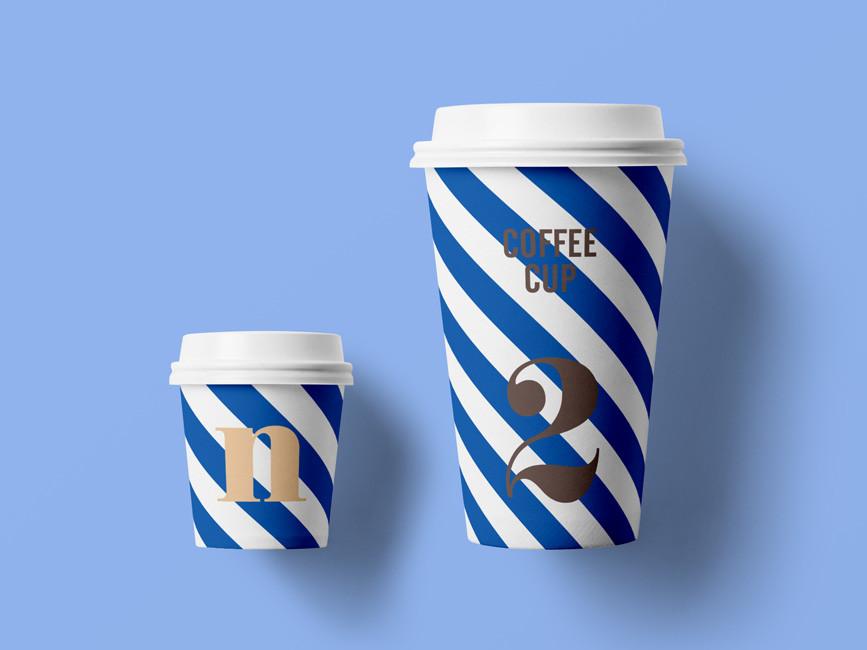 Paper Coffee Cup Mockup PSD - Mockup Love