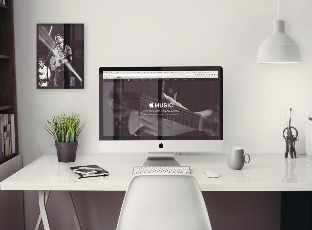 Retina iMac Office workspace Mockup  mockup, free mockup, psd mockup, mockup psd, free psd, psd, download mockup, mockup download, photoshop mockup, mock-up, free mock-up, mock-up psd, mockup template, free mockup psd, presentation mockup, branding mockup, free psd mockup