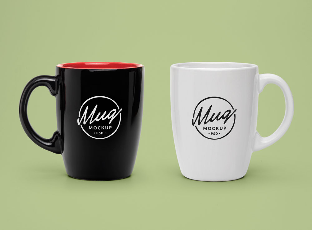 Tea Coffee Mug Mockup
