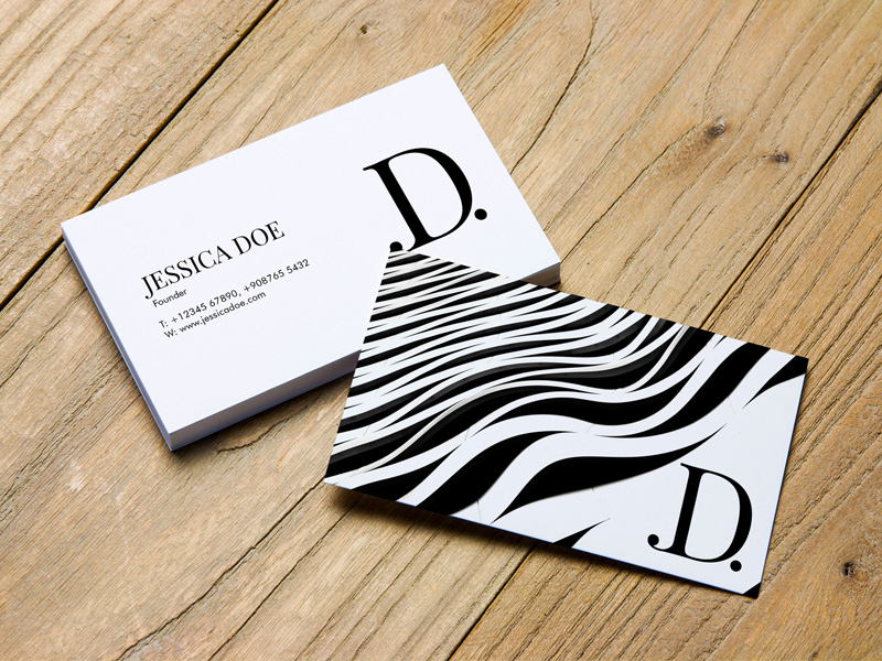 Business Card Psd Mockup Set