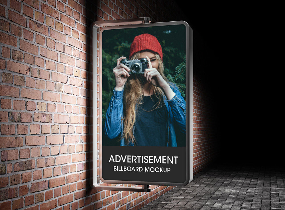 Vertical Glowing Advertisement Billboard Mockup  mockup, free mockup, psd mockup, mockup psd, free psd, psd, download mockup, mockup download, photoshop mockup, mock-up, free mock-up, mock-up psd, mockup template, free mockup psd, presentation mockup, branding mockup, free psd mockup