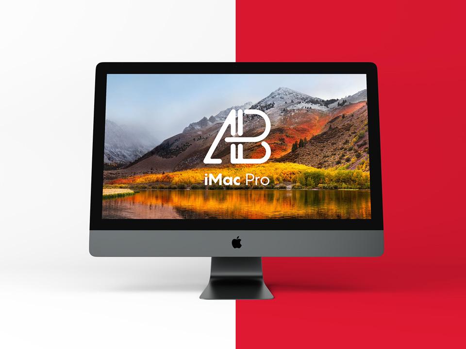 Apple iMac Pro PSD Mockup