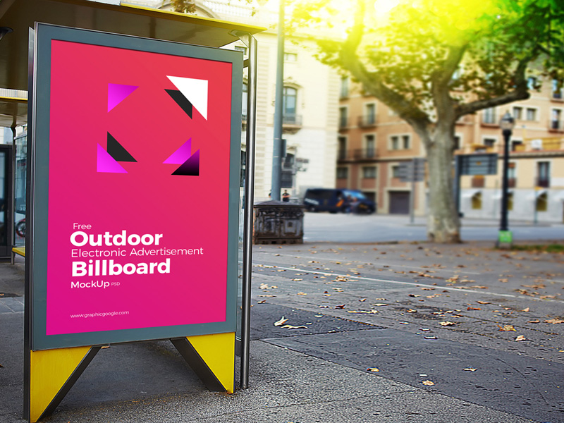 Bus Stop Advertising Billboard Mockup  mockup, free mockup, psd mockup, mockup psd, free psd, psd, download mockup, mockup download, photoshop mockup, mock-up, free mock-up, mock-up psd, mockup template, free mockup psd, presentation mockup, branding mockup, free psd mockup