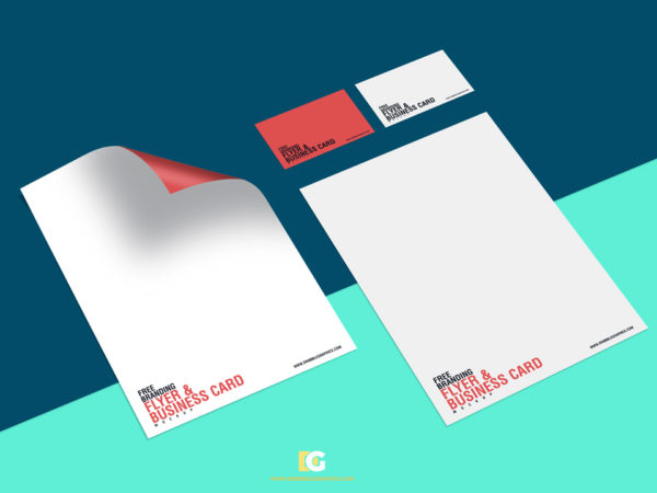 Free Flyer and Business Card Mockup  mockup, free mockup, psd mockup, mockup psd, free psd, psd, download mockup, mockup download, photoshop mockup, mock-up, free mock-up, mock-up psd, mockup template, free mockup psd, presentation mockup, branding mockup, free psd mockup