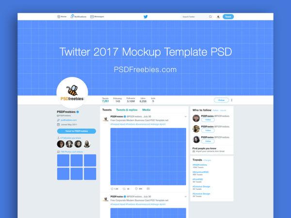 New Twitter 2017 Page Mockup  mockup, free mockup, psd mockup, mockup psd, free psd, psd, download mockup, mockup download, photoshop mockup, mock-up, free mock-up, mock-up psd, mockup template, free mockup psd, presentation mockup, branding mockup, free psd mockup
