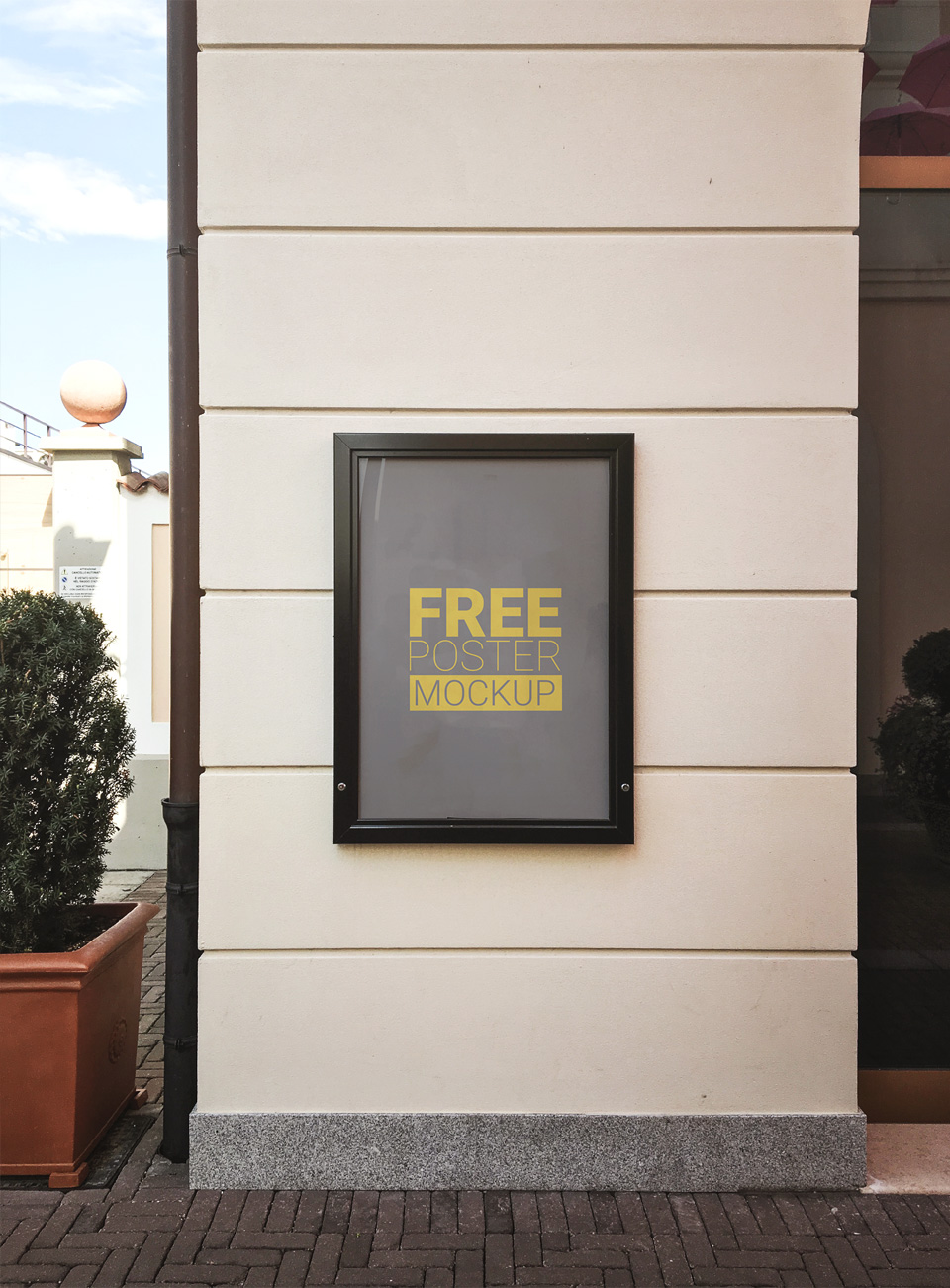 Outdoor Photorealistic Poster Mockup  mockup, free mockup, psd mockup, mockup psd, free psd, psd, download mockup, mockup download, photoshop mockup, mock-up, free mock-up, mock-up psd, mockup template, free mockup psd, presentation mockup, branding mockup, free psd mockup