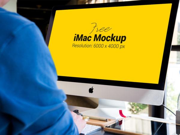 Apple iMac Mockup PSD  mockup, free mockup, psd mockup, mockup psd, free psd, psd, download mockup, mockup download, photoshop mockup, mock-up, free mock-up, mock-up psd, mockup template, free mockup psd, presentation mockup, branding mockup, free psd mockup