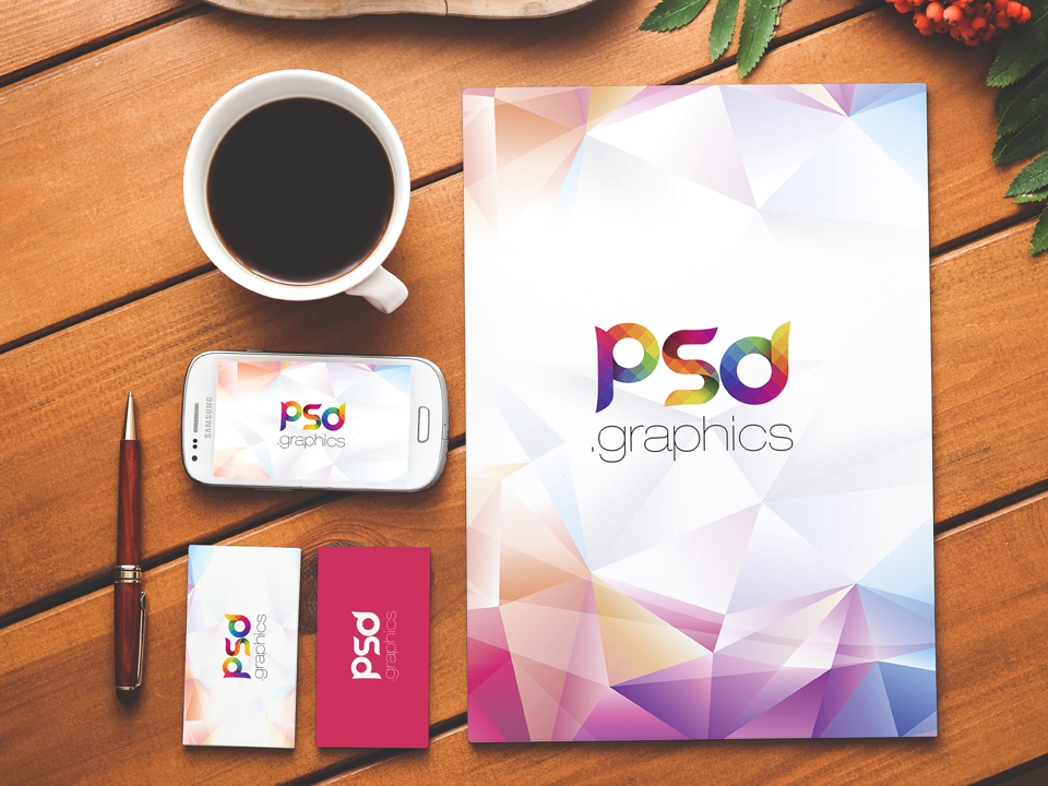 Free Stationery and Branding Mockup PSD