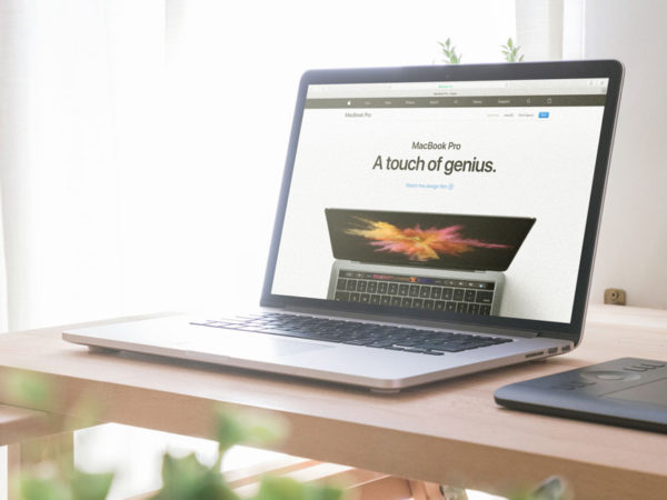 Macbook on Office Table Mockup  mockup, free mockup, psd mockup, mockup psd, free psd, psd, download mockup, mockup download, photoshop mockup, mock-up, free mock-up, mock-up psd, mockup template, free mockup psd, presentation mockup, branding mockup, free psd mockup