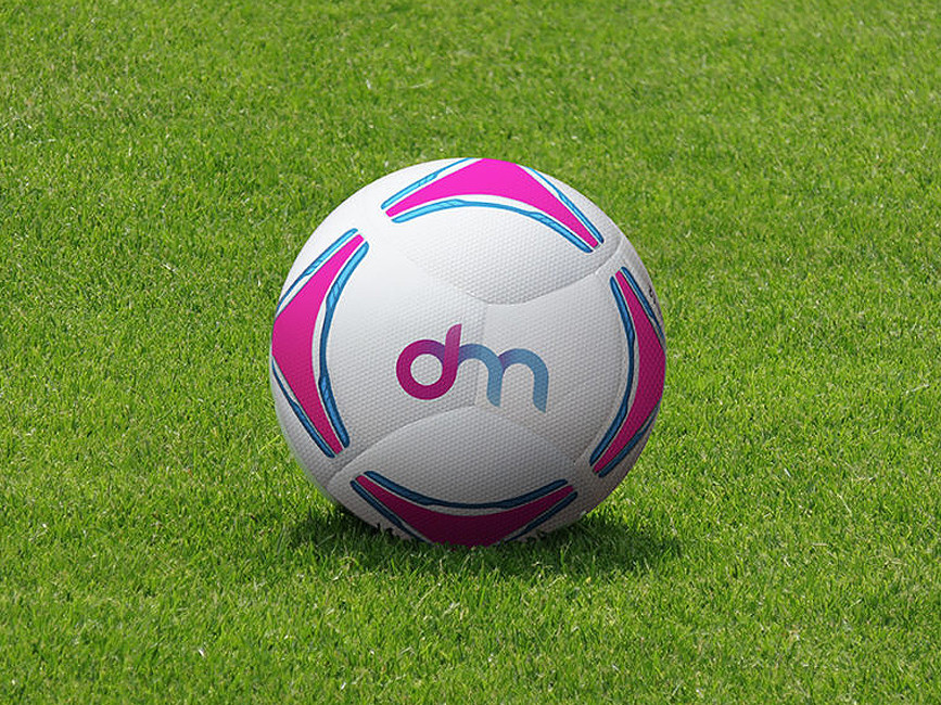 Football and Soccer Ball Mockup