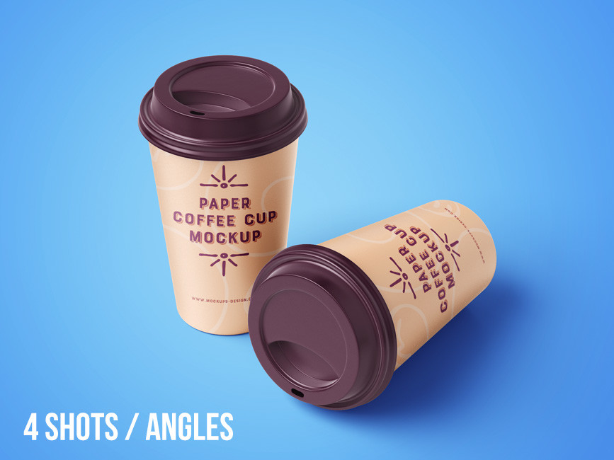 Paper Coffee Cup Mockup Set
