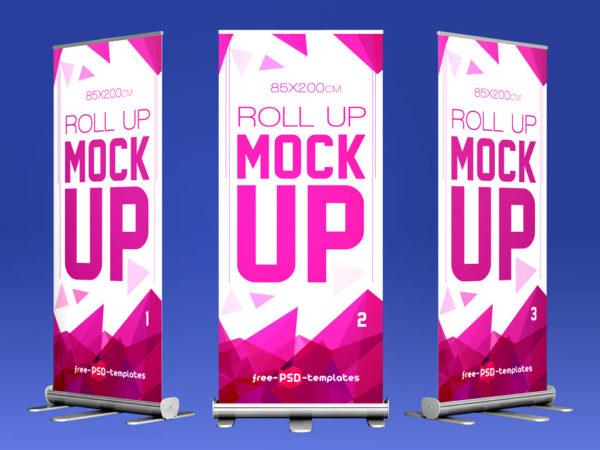 Roll-Up Banner PSD Mockup  mockup, free mockup, psd mockup, mockup psd, free psd, psd, download mockup, mockup download, photoshop mockup, mock-up, free mock-up, mock-up psd, mockup template, free mockup psd, presentation mockup, branding mockup, free psd mockup