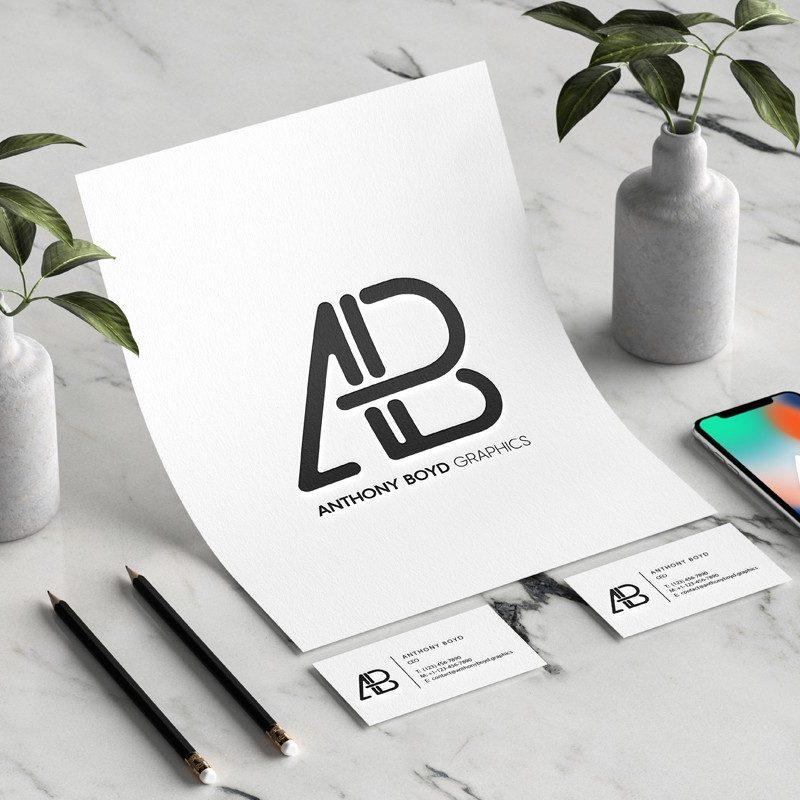 Office Branding Identity PSD Mockup