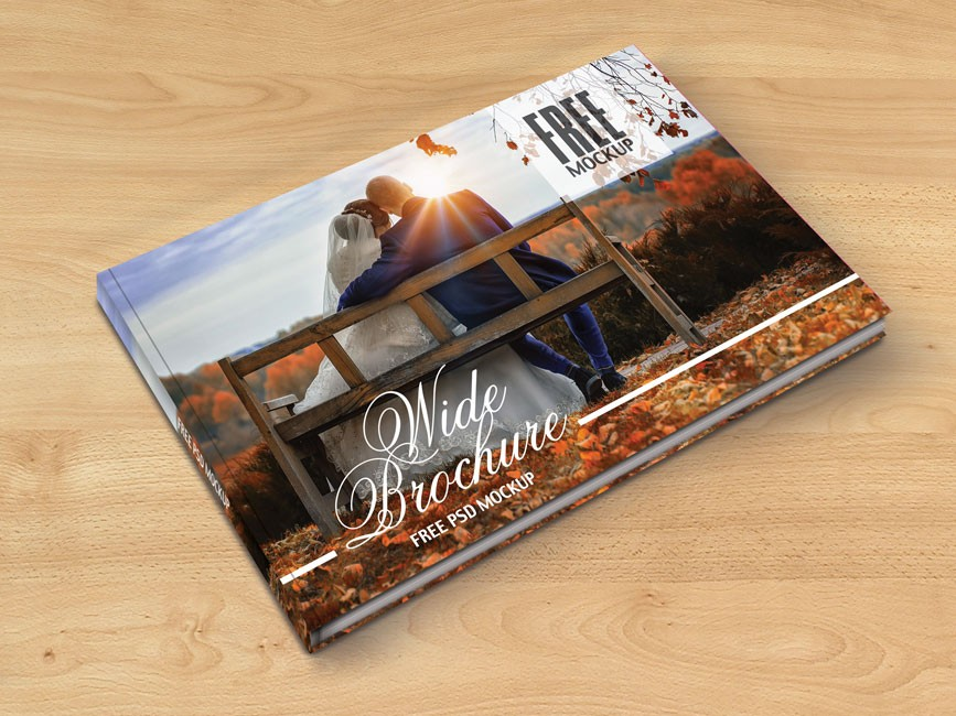 Photo Album Hardcover Mockup