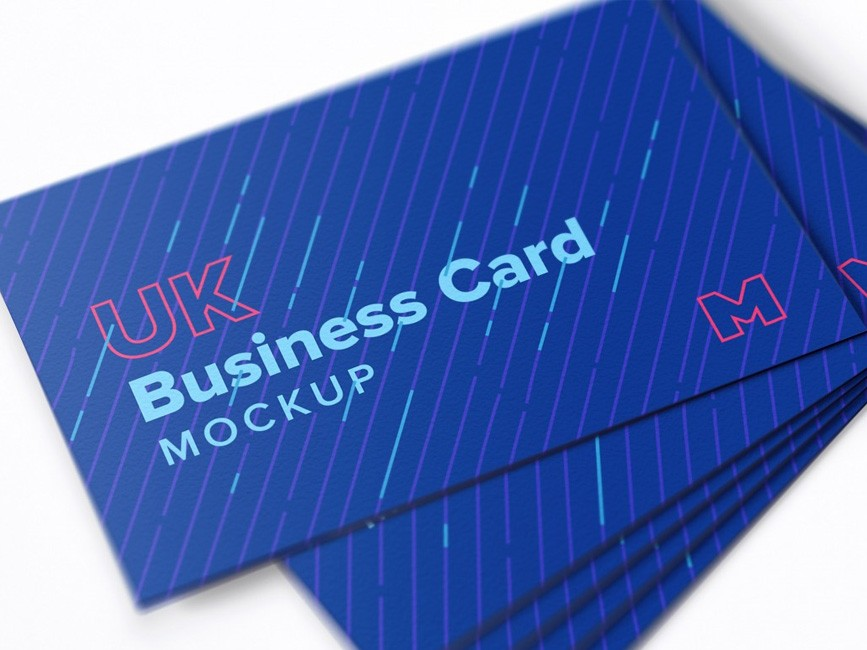 Clean Business Card PSD Mockup