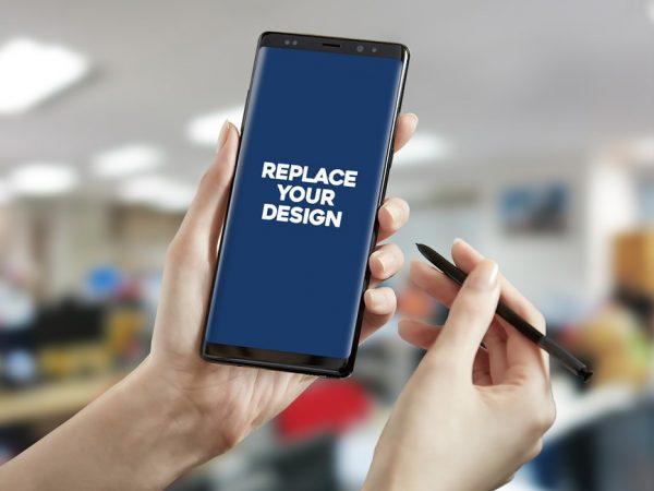 Galaxy Note 9 with S-pen Mockup  mockup, free mockup, psd mockup, mockup psd, free psd, psd, download mockup, mockup download, photoshop mockup, mock-up, free mock-up, mock-up psd, mockup template, free mockup psd, presentation mockup, branding mockup, free psd mockup