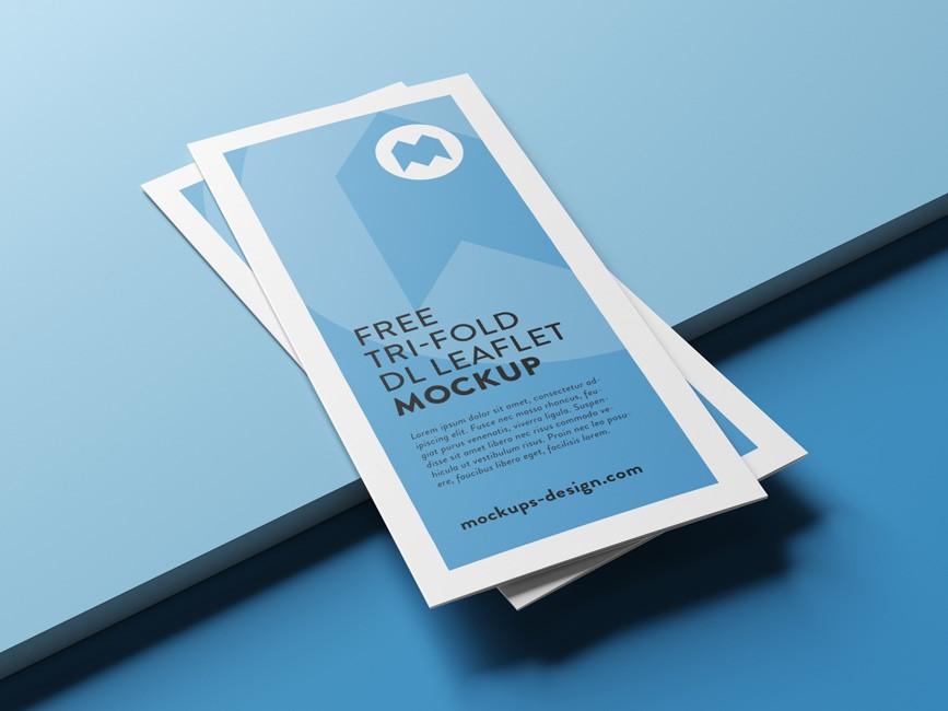 Tri-fold Brochure Mockup Bundle