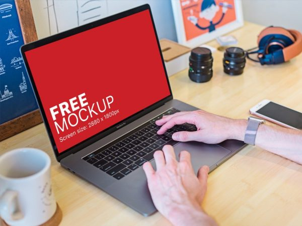 Man Working on Macbook Pro Mockup  mockup, free mockup, psd mockup, mockup psd, free psd, psd, download mockup, mockup download, photoshop mockup, mock-up, free mock-up, mock-up psd, mockup template, free mockup psd, presentation mockup, branding mockup, free psd mockup