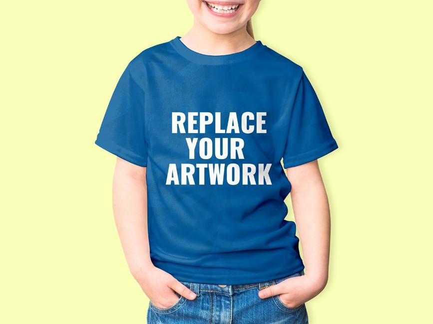 Kids T-Shirt Mockup PSD