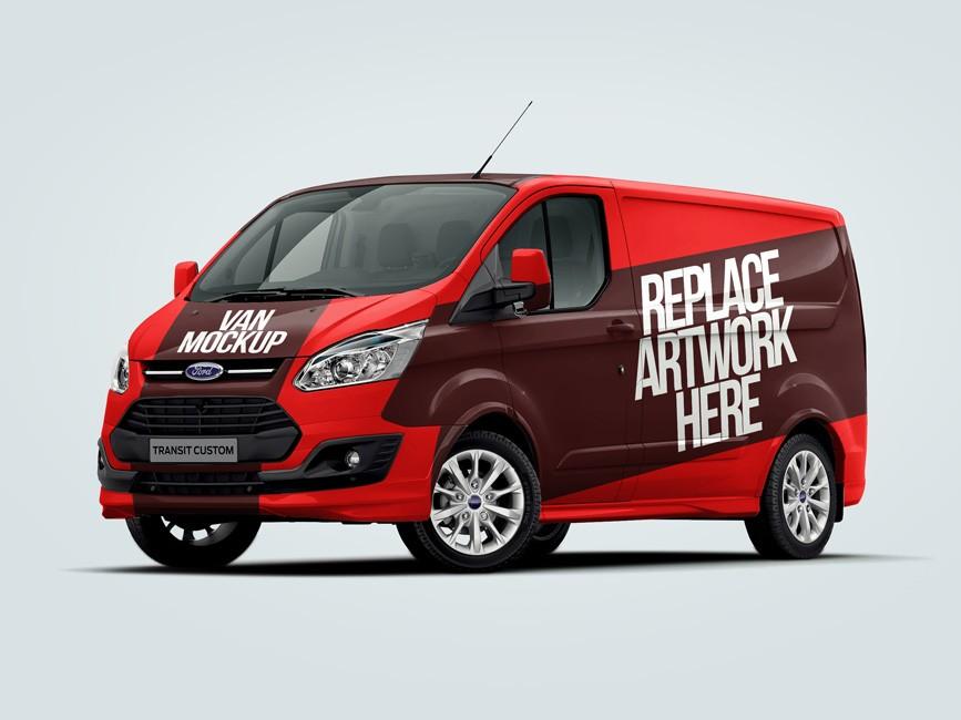 Ford Van PSD Mockup