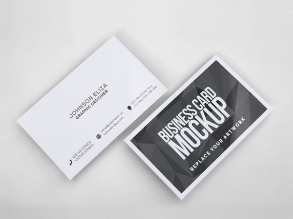 Business card mockup mockup love simple business cards mockup reheart Gallery