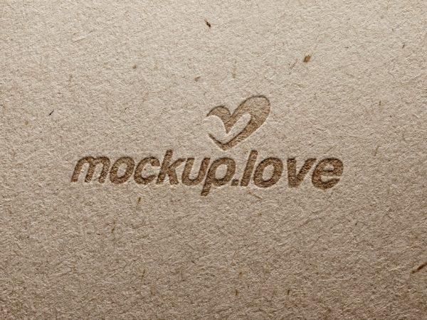 Pressed Cardboard Logo Mockup  mockup, free mockup, psd mockup, mockup psd, free psd, psd, download mockup, mockup download, photoshop mockup, mock-up, free mock-up, mock-up psd, mockup template, free mockup psd, presentation mockup, branding mockup, free psd mockup
