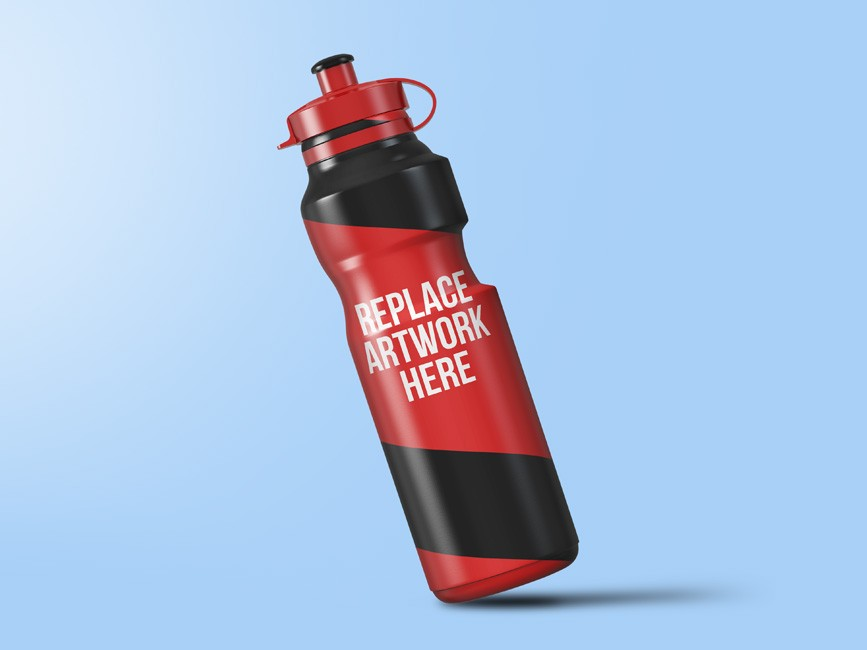 Sport Sipper Bottle Mockup