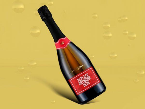 Photorealistic Wine Bottle Mockup  mockup, free mockup, psd mockup, mockup psd, free psd, psd, download mockup, mockup download, photoshop mockup, mock-up, free mock-up, mock-up psd, mockup template, free mockup psd, presentation mockup, branding mockup, free psd mockup