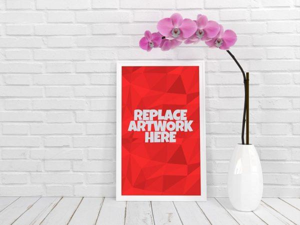 White Poster Frame Mockup  mockup, free mockup, psd mockup, mockup psd, free psd, psd, download mockup, mockup download, photoshop mockup, mock-up, free mock-up, mock-up psd, mockup template, free mockup psd, presentation mockup, branding mockup, free psd mockup