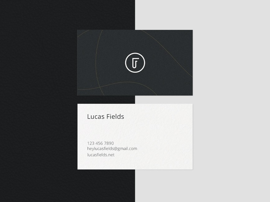 Beautiful Business Card Mockups Set