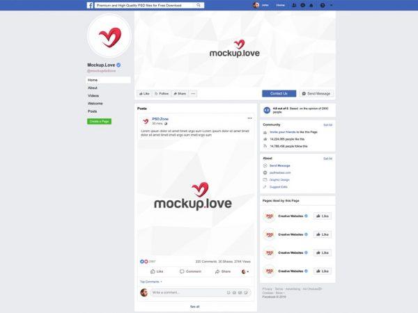 2019 Facebook Page Branding Mockup  mockup, free mockup, psd mockup, mockup psd, free psd, psd, download mockup, mockup download, photoshop mockup, mock-up, free mock-up, mock-up psd, mockup template, free mockup psd, presentation mockup, branding mockup, free psd mockup