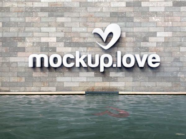 3D Logo on Wall Mockup  mockup, free mockup, psd mockup, mockup psd, free psd, psd, download mockup, mockup download, photoshop mockup, mock-up, free mock-up, mock-up psd, mockup template, free mockup psd, presentation mockup, branding mockup, free psd mockup