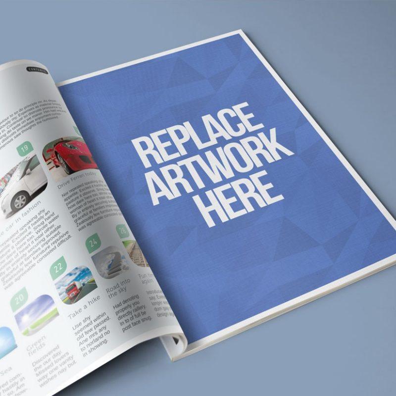 Magazine Full Page Print AD Mockup