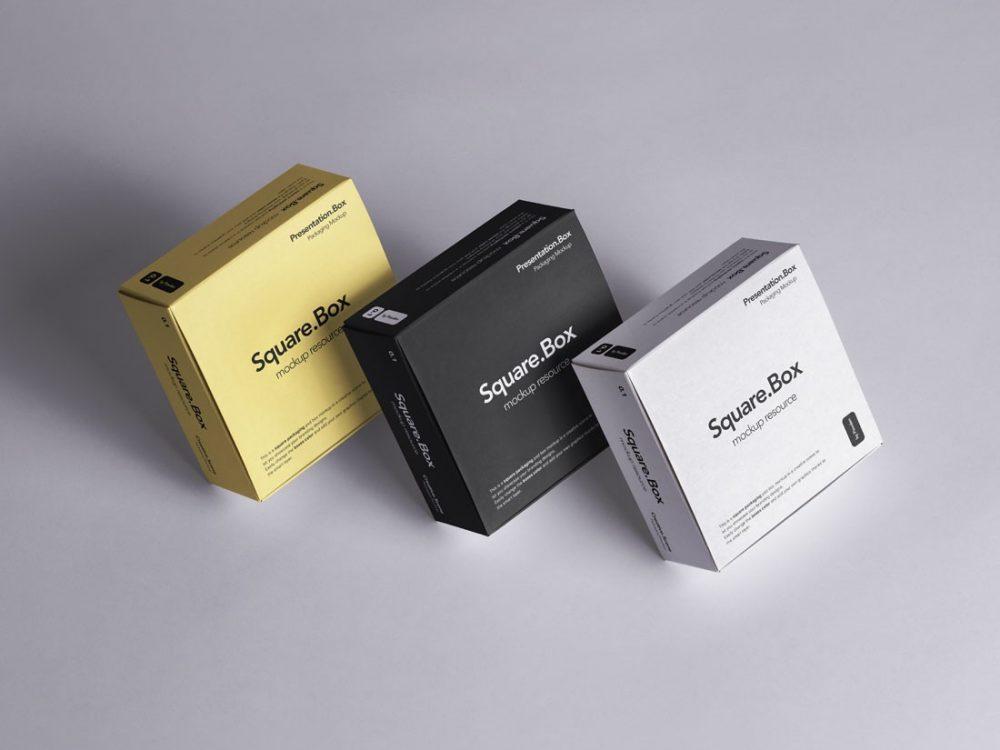 Multiple Box Packaging Mockup Mockup Love