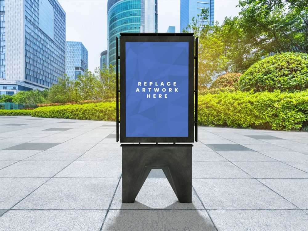 Outdoor Advertisement Board Poster Mockup  mockup, free mockup, psd mockup, mockup psd, free psd, psd, download mockup, mockup download, photoshop mockup, mock-up, free mock-up, mock-up psd, mockup template, free mockup psd, presentation mockup, branding mockup, free psd mockup