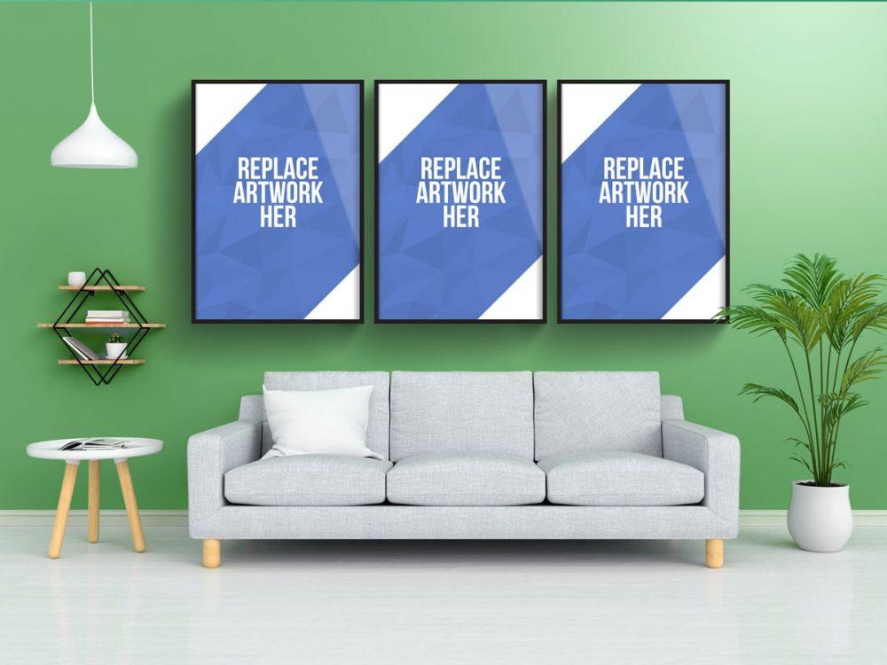 Wall Poster Photo Frame Mockup  mockup, free mockup, psd mockup, mockup psd, free psd, psd, download mockup, mockup download, photoshop mockup, mock-up, free mock-up, mock-up psd, mockup template, free mockup psd, presentation mockup, branding mockup, free psd mockup