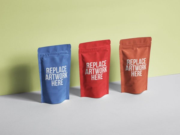 Multiple Pouch Packaging Mockup  mockup, free mockup, psd mockup, mockup psd, free psd, psd, download mockup, mockup download, photoshop mockup, mock-up, free mock-up, mock-up psd, mockup template, free mockup psd, presentation mockup, branding mockup, free psd mockup