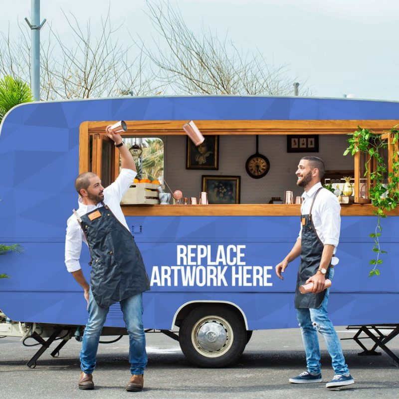 Food Truck Branding Mockup