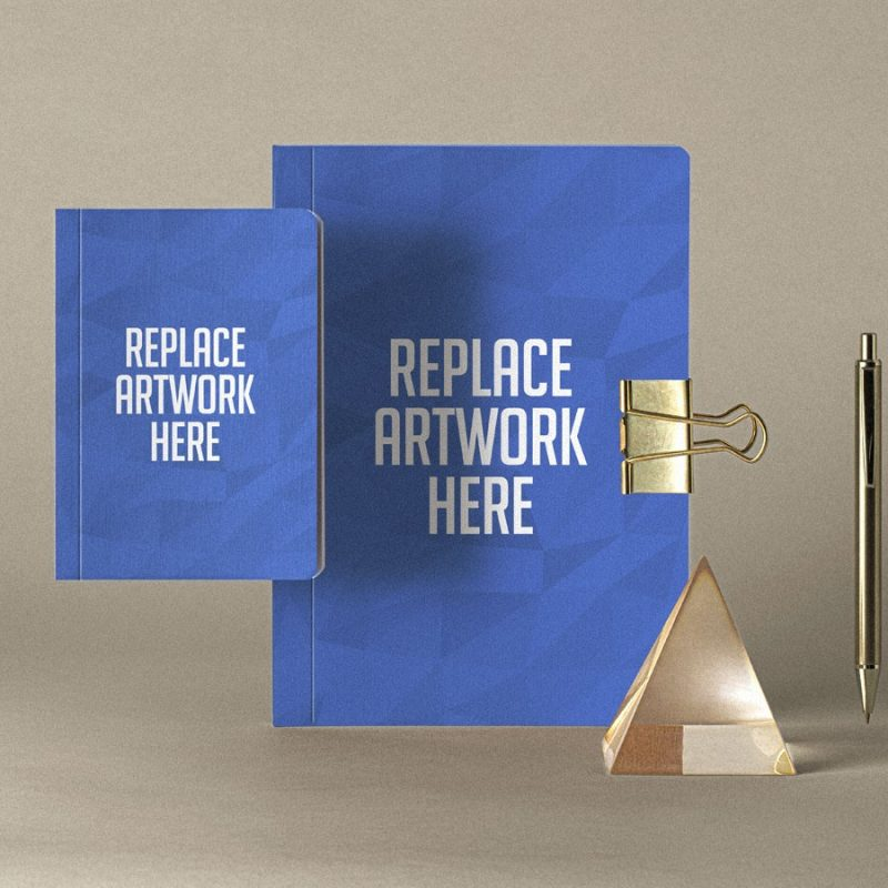 Notebook Set Cover Mockup