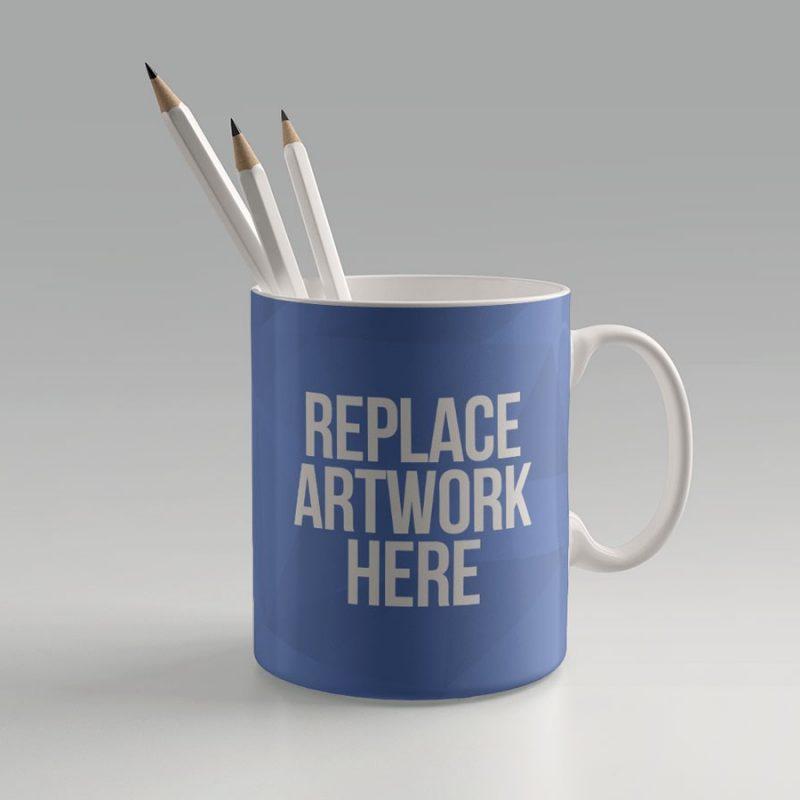 Coffee Mug Branding Mockup