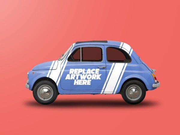 Vintage Car Wrap Mockup  mockup, free mockup, psd mockup, mockup psd, free psd, psd, download mockup, mockup download, photoshop mockup, mock-up, free mock-up, mock-up psd, mockup template, free mockup psd, presentation mockup, branding mockup, free psd mockup